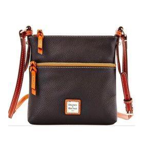 Dooney & Bourke Pebble Grain Letter Carrier Bag